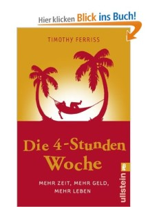"""Buchempfehlung von Wolfgang Witte: """"Die 4-Stunden-Woche"""""""