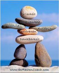 Motivation, Klarheit, offen für Neues, Energie, positives Denken